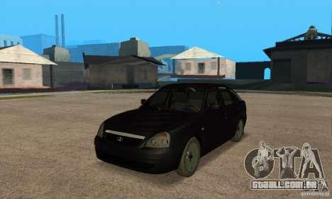 Hatchback de LADA priora 2172 para GTA San Andreas