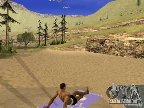 Esteira do resto para GTA San Andreas segunda tela