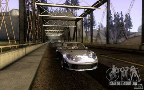Ruf RK Coupe V1.0 2006 para GTA San Andreas traseira esquerda vista