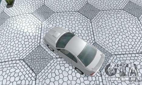 Ford Mustang GT 2003 para GTA San Andreas traseira esquerda vista