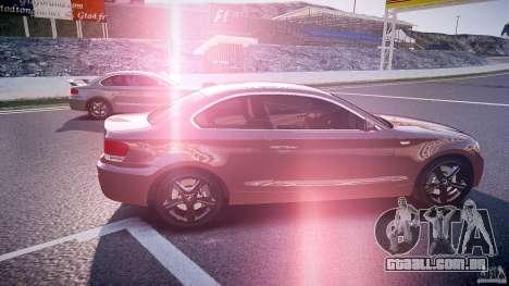 BMW 135i Coupe v1.0 2009 para GTA 4 vista interior