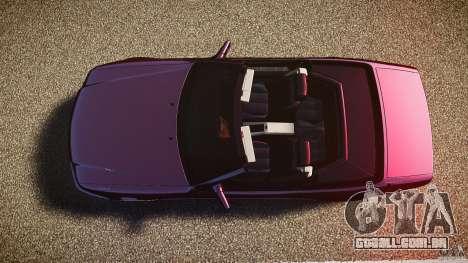Mercedes Benz SL500 Custom para GTA 4 vista direita