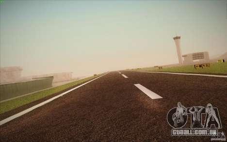 New San Fierro Airport v1.0 para GTA San Andreas nono tela