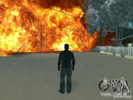 Salut v1 para GTA San Andreas quinto tela