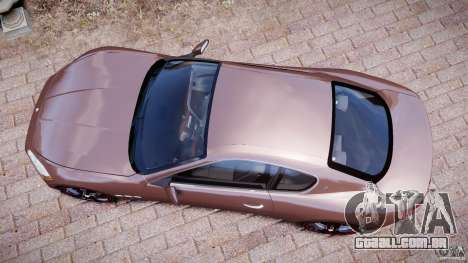Maserati GranTurismo v1.0 para GTA 4 vista direita