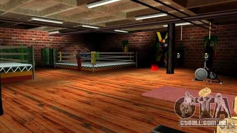 Ginásio para GTA San Andreas segunda tela