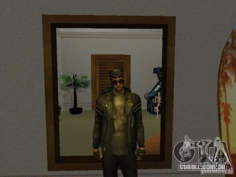 Jaqueta de crânio para GTA San Andreas segunda tela
