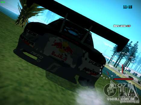 Mazda RX-7 Mad Mike para GTA San Andreas esquerda vista