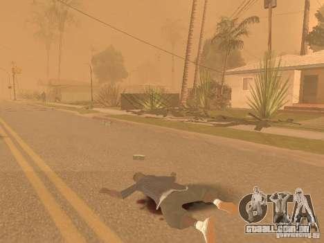 Terremoto para GTA San Andreas por diante tela