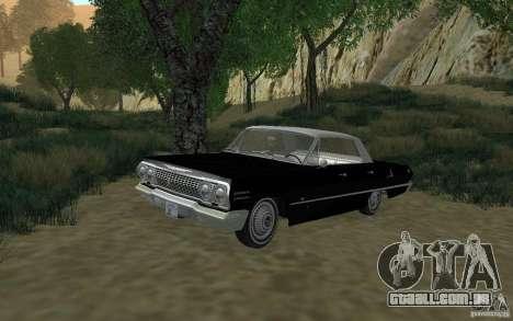 Chevrolet Impala 4 Door Hardtop 1963 para GTA San Andreas