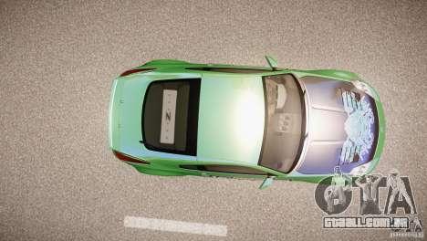 Nissan 350Z Underground 2 Style para GTA 4 vista de volta