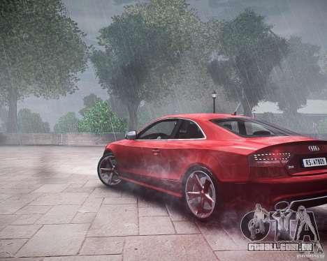 Audi RS5 2010 para GTA 4 esquerda vista