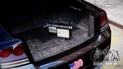 Dodge Charger NYPD Police v1.3 para GTA 4 vista lateral