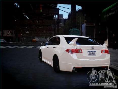 Honda Accord Mugen para GTA 4 vista direita