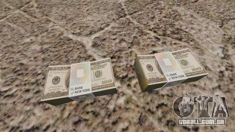 Notas dos Estados Unidos nas notas de $ 100 para GTA 4 segundo screenshot