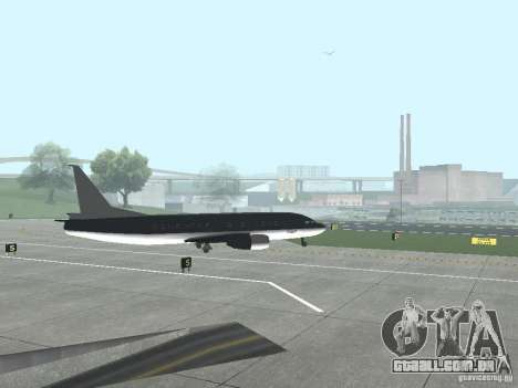 AT-400 em todos os aeroportos para GTA San Andreas segunda tela