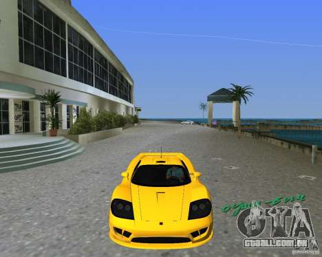 Saleen S7 para GTA Vice City deixou vista