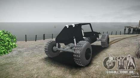 Buggy beta para GTA 4 traseira esquerda vista