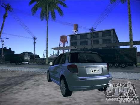 Suzuki SX4 2012 para GTA San Andreas esquerda vista