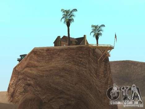 Casa de campo para GTA San Andreas segunda tela