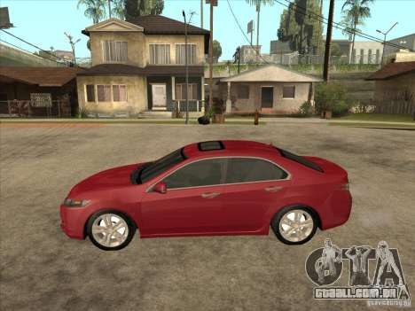 Honda Accord 2010 para GTA San Andreas esquerda vista