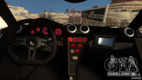 Gumpert Apollo Sport 2011 v2.0 para GTA 4 traseira esquerda vista