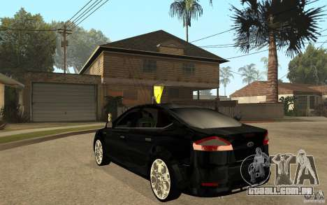 Ford Mondeo 2009 para GTA San Andreas traseira esquerda vista