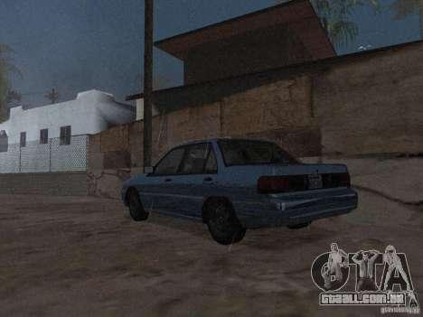 Mercury Tracer 1993 para GTA San Andreas esquerda vista