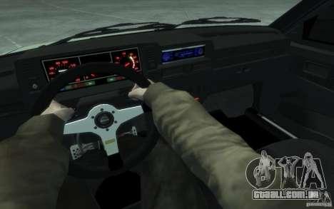 Esporte VAZ-2109i para GTA 4 vista de volta