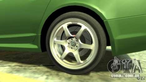 Audi RS6 Avant 2010 Stock para GTA 4 vista de volta