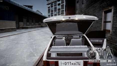 VAZ 21083i para GTA 4 vista lateral