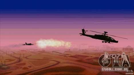 Armadilhas de calor para caçador para GTA San Andreas por diante tela