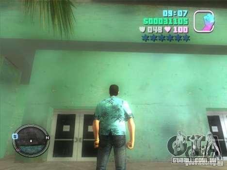 Hud and map para GTA Vice City