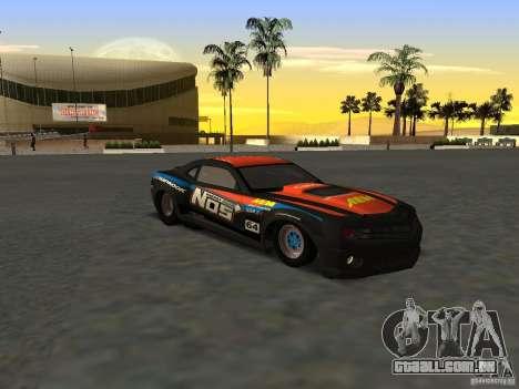 Chevrolet Camaro NOS para GTA San Andreas