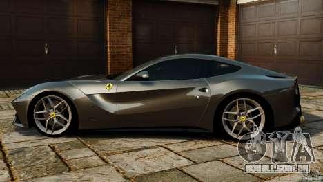 Ferrari F12 Berlinetta 2013 Stock para GTA 4 esquerda vista