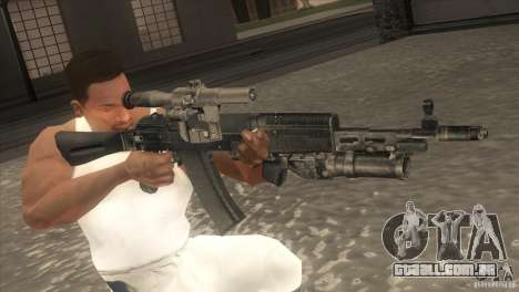 AK-47 v2 para GTA San Andreas quinto tela