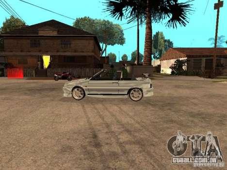 VAZ 2108 conversível para GTA San Andreas vista direita