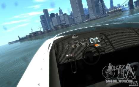 New Jetmax para GTA 4 vista de volta
