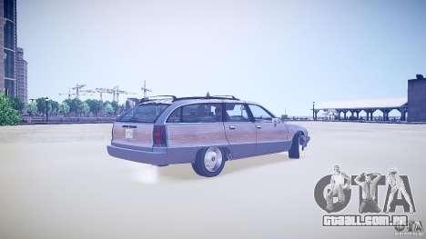 Chevrolet Caprice Civil 1992 v1.0 para GTA 4 traseira esquerda vista