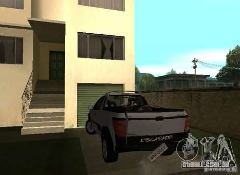 Peugeot Hoggar Escapade 2010 para GTA San Andreas vista interior