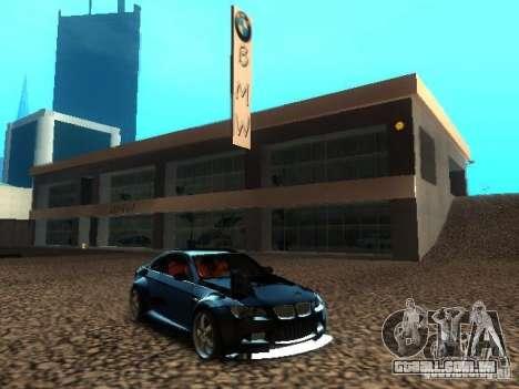 Concessionária BMW em San Fierro para GTA San Andreas