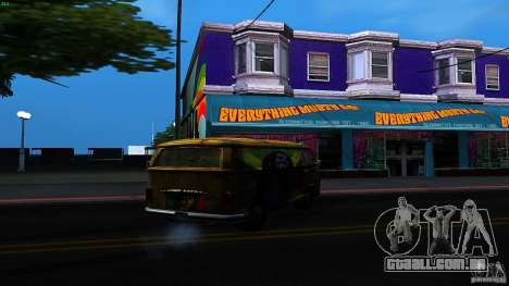 Comb do Bob and Rastaman para GTA San Andreas vista direita