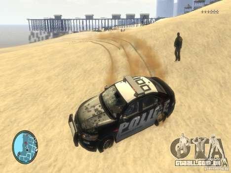 Ford Taurus Police para GTA 4 vista superior