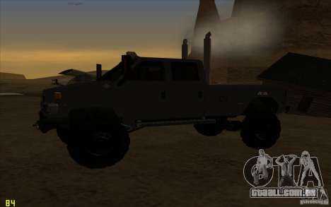 GMC Topkick Ironhide TF3 para GTA San Andreas vista direita