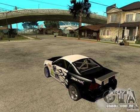 2003 Ford Mustang GT Street Drag para GTA San Andreas esquerda vista