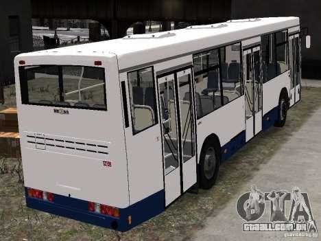 Nefaz-5299 10-15 para GTA 4 vista de volta