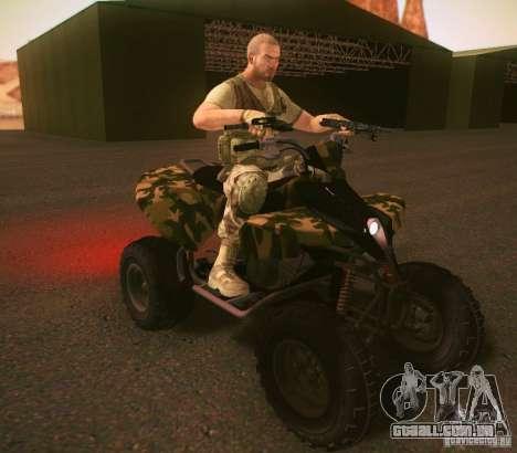 ATV 50 para GTA San Andreas esquerda vista