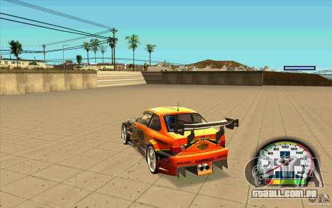 New Speedometer with transmissions para GTA San Andreas
