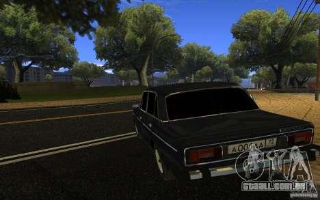 VAZ 2106 Tyumen para GTA San Andreas esquerda vista