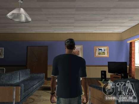 T-shirt Hip-Hop para GTA San Andreas segunda tela